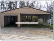 carport with shed, utilitiy shed, metal shed, outdoor cover
